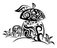 Грибы Zentangle стилизованные Стоковые Фото