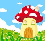 гриб дома Стоковая Фотография