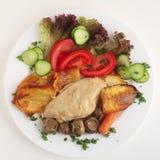 гриб еды цыпленка casserole Стоковое фото RF