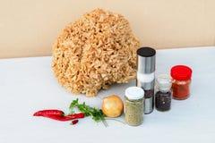 Гриб цветной капусты (Sparassis) Стоковая Фотография