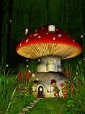 гриб дома Стоковые Изображения RF