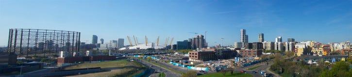 Гринвича панорама Лондон северно дополнительная широкая Стоковые Фото