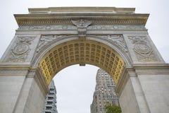 Гринич-виллидж памятника квадрата Вашингтона, Манхаттан, Нью-Йорк Стоковое Изображение