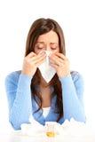 грипп аллергии Стоковое фото RF