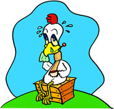 грипп цыпленка Стоковое фото RF