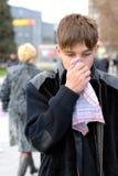 грипп Стоковое Фото
