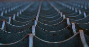 Гриль края металла Стоковое Фото
