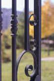 Гриль металла искусства Стоковая Фотография RF