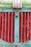 гриль трактора старый Стоковые Изображения