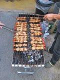 Гриль угля BBQ Стоковое Изображение