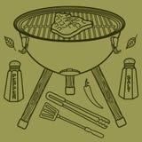 Гриль & BBQ Стоковые Изображения RF