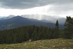 Гроза горы Стоковые Фотографии RF