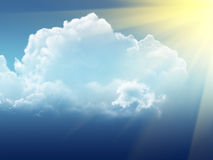 гроза неба стоковые изображения rf