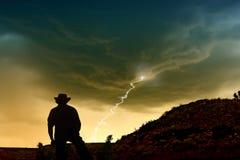 гроза стоковое фото rf