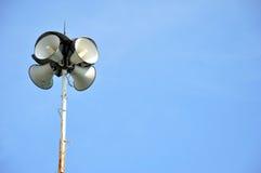 4 громкоговорителя воронки Стоковая Фотография RF