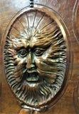 Гротесковая маска в замок, древесину, сторону и волшебство стоковое фото