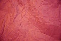 Грубая бумажная текстура, скомканная старая бумага Стоковое Изображение
