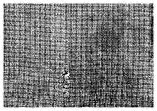 Грубая винтажная текстура ткани Стоковые Изображения