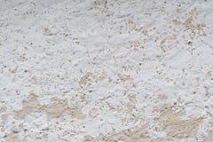 Грубая выдержанная белая стена Стоковое Фото