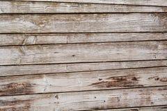 Грубая выдержанная деревянная текстура с горизонтальными планками как пустой космос предпосылки или экземпляра Стоковое Фото