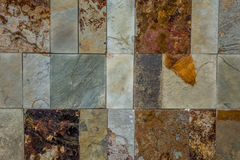 грубая каменная стена текстуры Стоковое Изображение