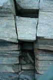 грубая каменная структура, живая природа северная Стоковые Фотографии RF
