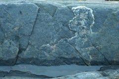 грубая каменная структура, живая природа северная Стоковое Изображение