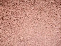 Грубая коричневая текстура гипсолита Стоковые Изображения