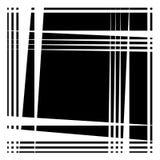 Грубая нервная картина, текстура с случайным, хаотическим острым triangula Стоковое Фото
