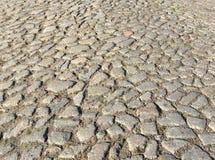 Грубая поверхность старой дороги стоковое фото rf