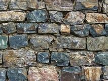 грубая стена камней Стоковая Фотография RF