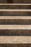 Грубая текстура лестницы камешка Стоковые Фото