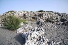 Грубое clifftop стоковое фото