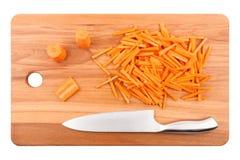 Грубо прерванные моркови Стоковая Фотография RF