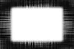 Грубые черные линии рамка Стоковое Изображение