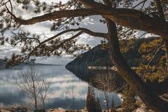 Грубый ландшафт в Канаде Стоковое фото RF