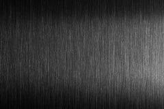 Грубый металл Почищенный щеткой металл с трудным отражением Стоковые Изображения