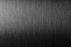Грубый металл Почищенный щеткой металл с трудным отражением Стоковое фото RF