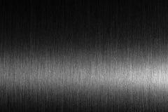 Грубый металл Почищенный щеткой металл с трудным отражением Стоковые Фотографии RF