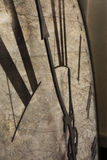 Грубый циферблат показывая полночь Стоковые Изображения