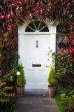 Грузинская дверь стиля стоковое фото rf