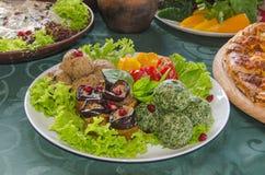 Грузинская кухня Стоковые Изображения