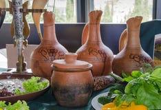 Грузинская кухня Стоковое Изображение