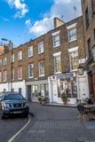 Грузинская сцена улицы в Лондоне стоковые фотографии rf