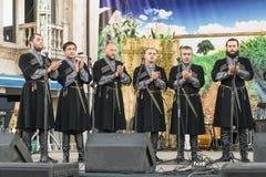 Грузинская polyphonic музыка Стоковые Изображения