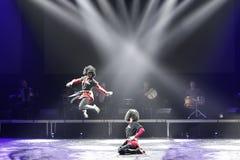 Грузинские танцы Стоковое Изображение