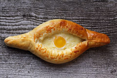 Грузинский пирог сыра Стоковая Фотография