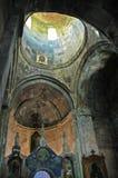 Грузинский правоверный интерьер монастыря Стоковое Фото