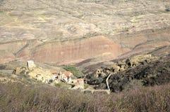 Грузинский правоверный монастырь сложное Дэвид Gareja Стоковое фото RF