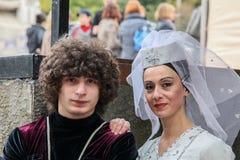 Грузинский фестиваль 'Tbilisoba' культуры в Kyiv стоковая фотография